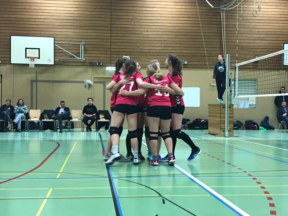 Volleyball Damen – 12. Spieltag 2017/18